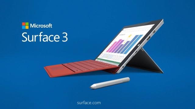 【レビュー】Surface3 (1) ファーストインプレッション