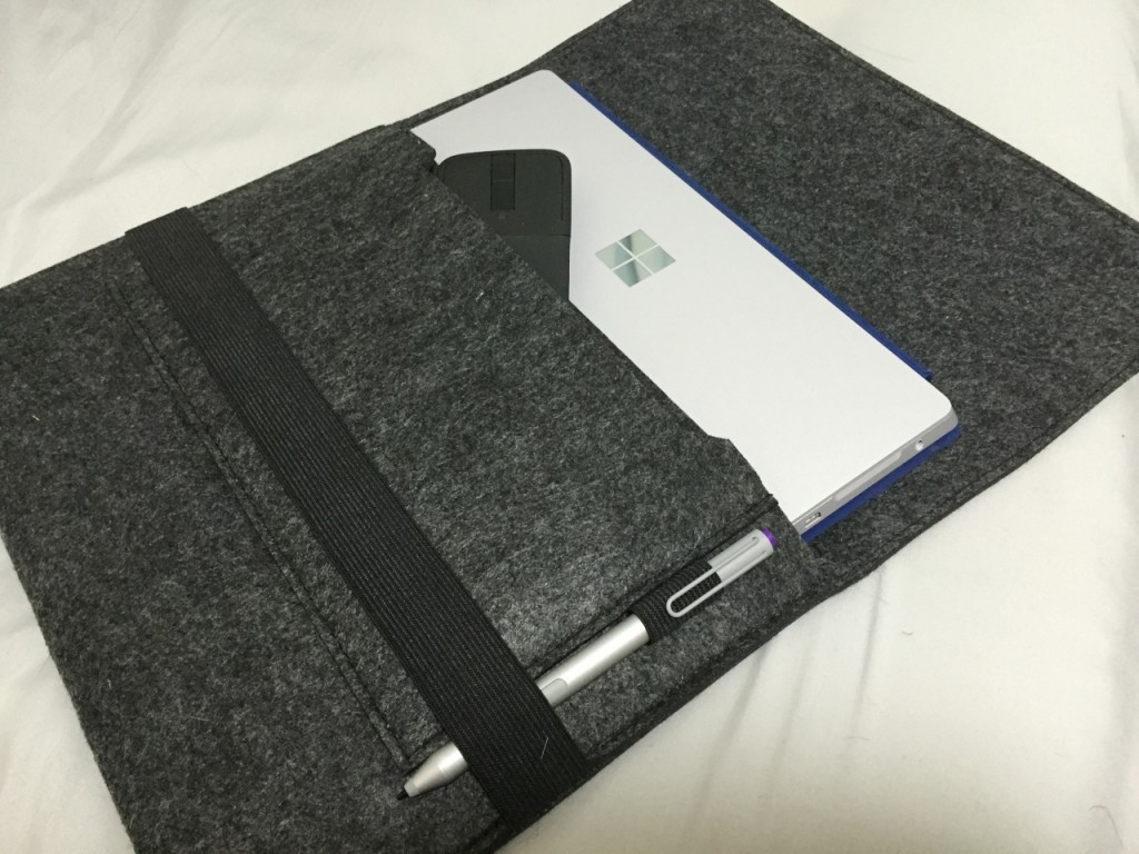 【レビュー】Surface3にMacbook12インチ用ケースを試す