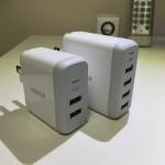【レビュー】Anker PowerPort 2/4のサイズ、性能、デザインが秀逸だ!