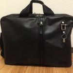 【レビュー】森野帆布3WAYバッグを1ヶ月使ってみて~ブリーフケースはビジネスで大活躍だ!