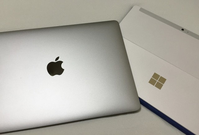 【レビュー】Surface3とMacBook 12inch Retina、どっちを選ぶ?