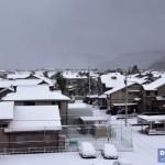北陸の雪景色