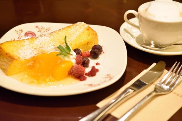 ビリオンコーヒーで柚子と蜜柑のフレンチトーストでホッと一息