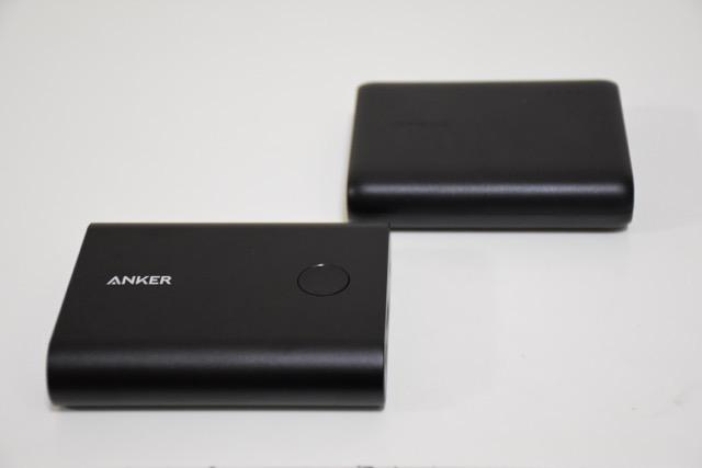 【比較レビュー】Anker PowerCore+13400とPowerCore10400 どちらを持ち歩く?