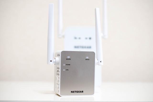 【レビュー】NETGEAR EX6120は手軽に設置できてオシャレな無線中継器