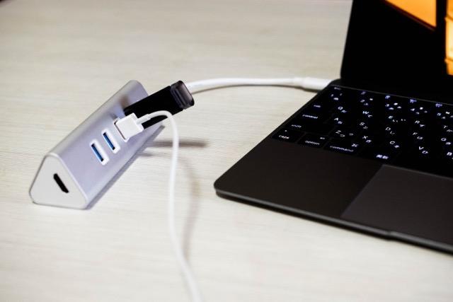 【レビュー】Aukey USB-C 4Portハブ HDMIアダプタは大画面出力に重宝するぞ!
