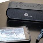 【レビュー】防水ワイヤレスステレオスピーカーで、iPhoneの音楽もバッチリ!