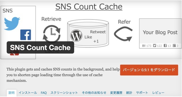 SNS Count CacheでFacebookシェアがカウントされなくなった時の対処方