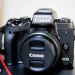 【レビュー】Canon EOS M5は、軽くてスバラシイ使用感!