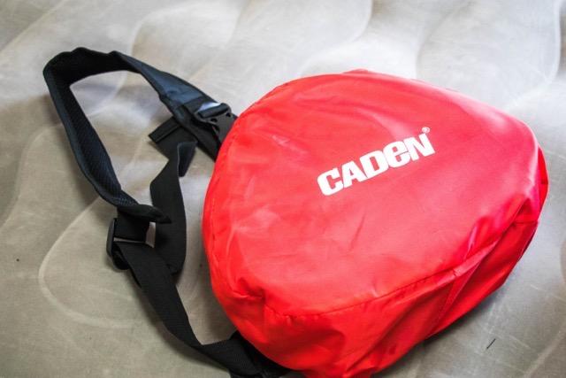 【レビュー】CADEN 一眼レフ カメラバッグは小型軽量!チョイ撮影やお散歩に最適なカメラバッグだっ!