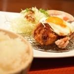 絶品大戸屋ランチ〜卵とチキン竜田揚げのコラボレーションが美味い!