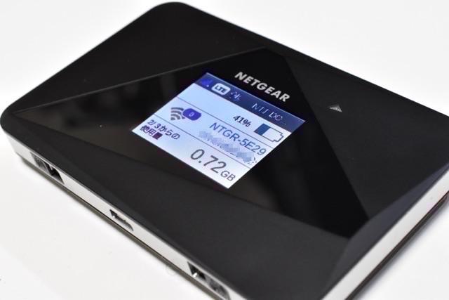 【レビュー】NETGEAR AirCard AC785モバイルルータは設定簡単!