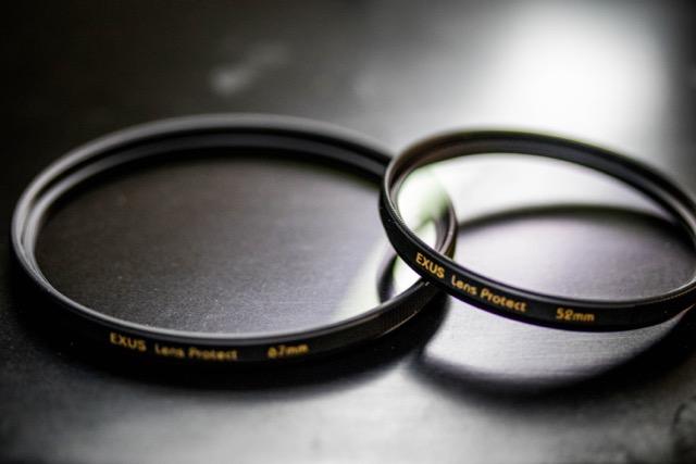 【レビュー】MARUMI EXUS レンズプロテクターはホコリも汚れも防いでとってもイイ感じ!