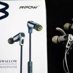 【レビュー】Mpow Swallow Bluetoothイヤホンはボーカルがハッキリ聞こえるイヤホンだ!