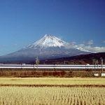 新幹線からの見た富士山が後ろに見えたり、前に見えたり。コレってどういうこと??