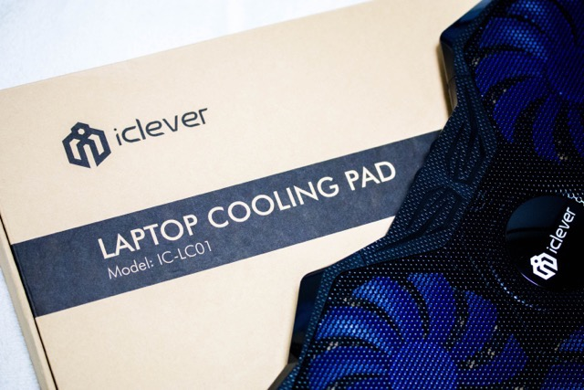 【レビュー】負荷の高いPCを速攻冷却!iCleverノートPCクーラー