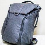 【レビュー】PeakDesign「Everyday Backpack」開封レビューその2〜機動性抜群!出張にも旅行にも持っていけるぞ!