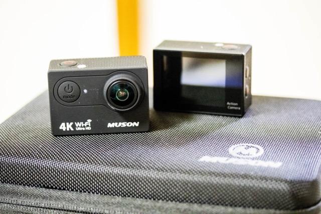 【レビュー】MUSON アクションカメラ MC2 4Kへアップグレード!車載動画に使ってるよ〜!