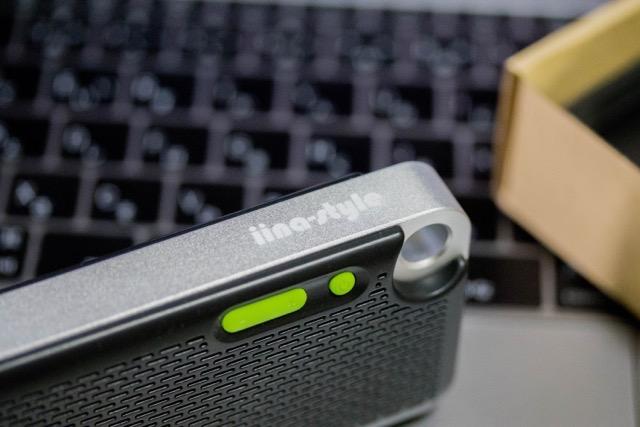 【レビュー】iina-style Bluetoothスピーカーのコンパクトボディーに秘められた大パワー!