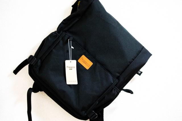 【レビュー】PRASACCO リュックサックは大型書類も入るビジネスにも最適なバックパックですよっ!
